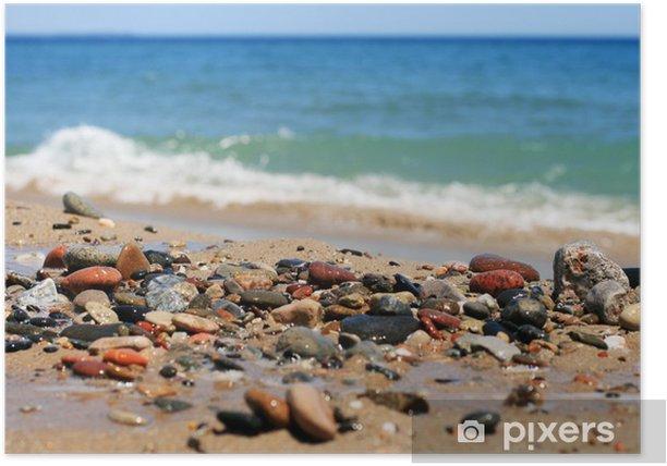 Sea stones. Poster - Europe