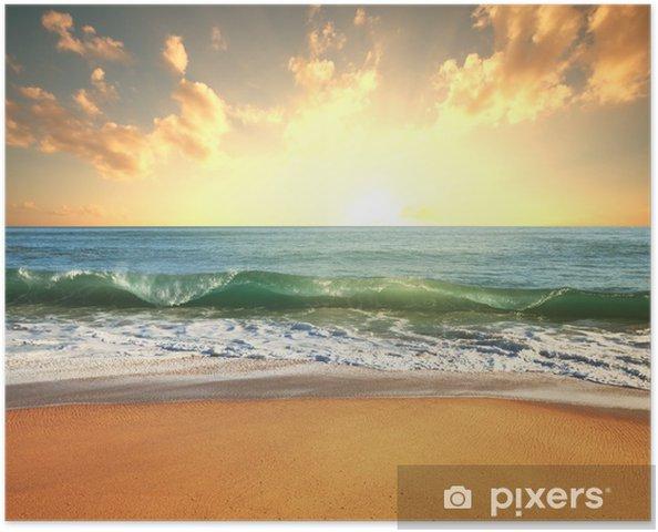 Poster Sea sunset - Thèmes