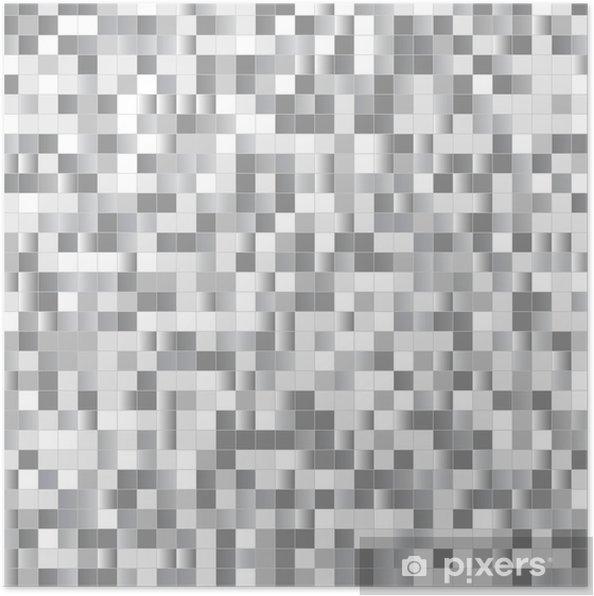 Poster Seamless pixels brillants - Arrière plans