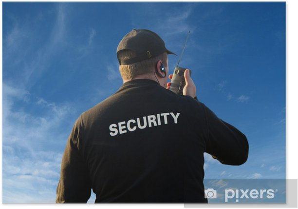 Poster Sicurezza - Métiers