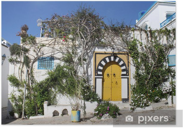 Poster Sidi Bou Said, Tunisie - Vacances