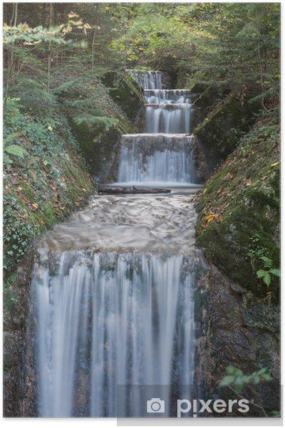 Poster Silky Waterfall - Eau