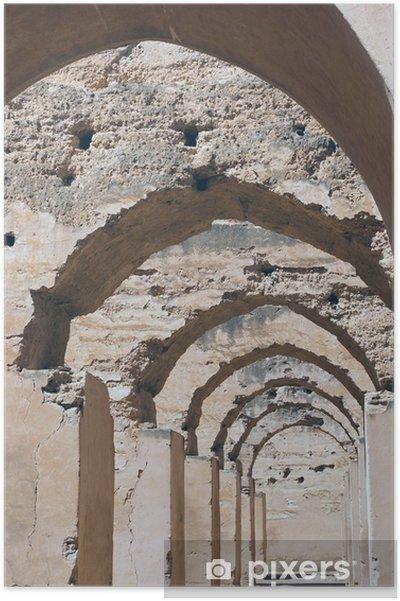 Poster Sites du Maroc - Afrique