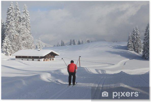 Poster Skilanglauf - Vacances