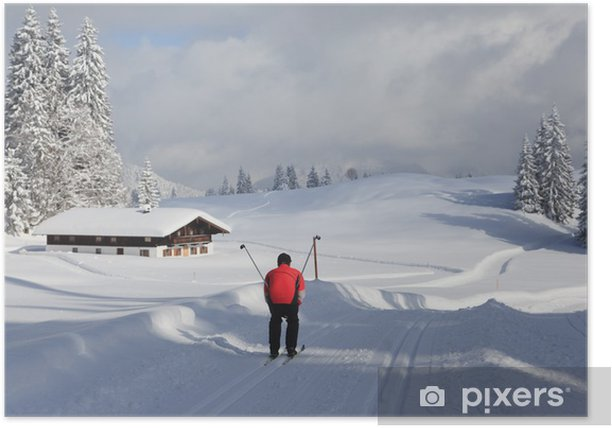 Skilanglauf Poster - Holidays