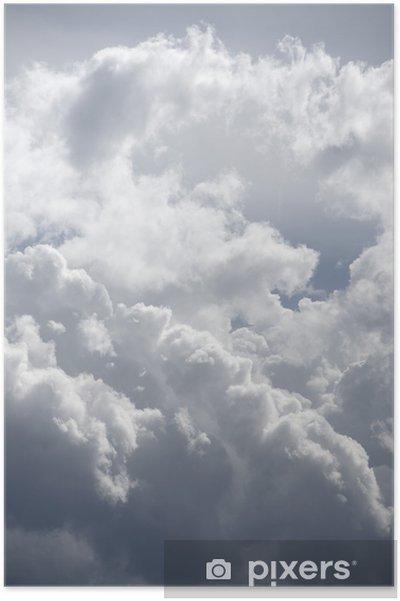 Poster Sky background - Ciel