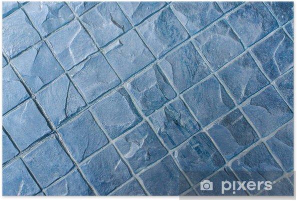 Poster Slate Texture Vinyle Plancher Un Choix Populaire Pour