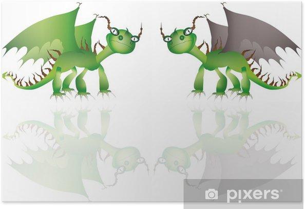 smok Poster - Imaginary Animals
