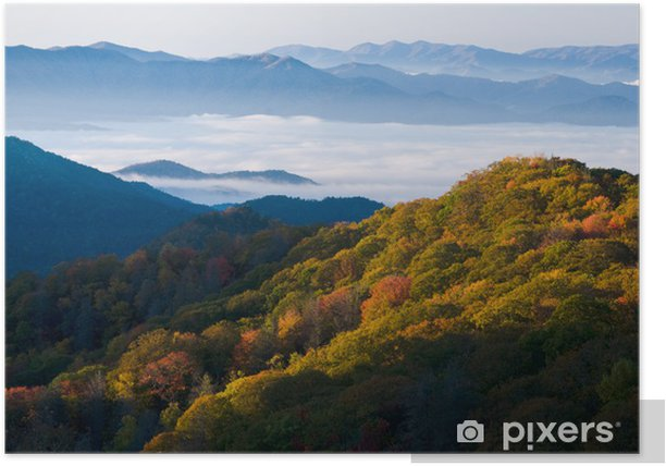 Smoky Mountains National Park Poster - America