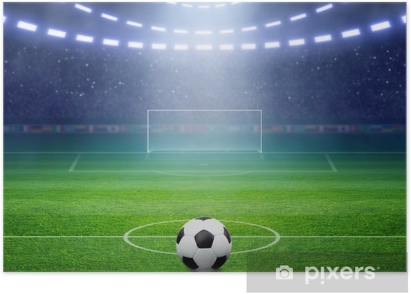 Soccer stadium Poster - Destinations
