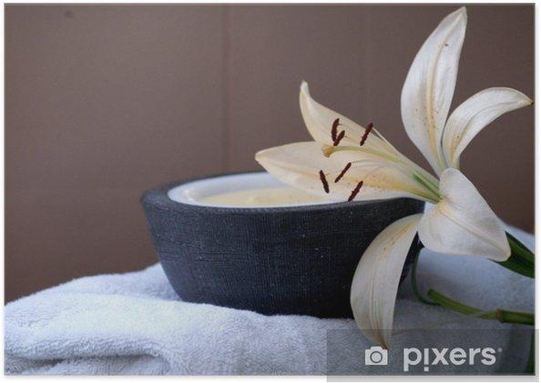Poster Soin au spa - Beauté et soins du corps