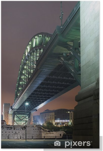 Poster Sous le pont - Infrastructures