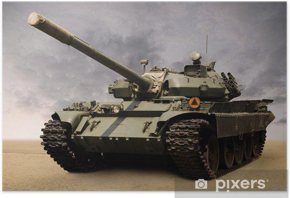 Soviet tank Poster - Themes