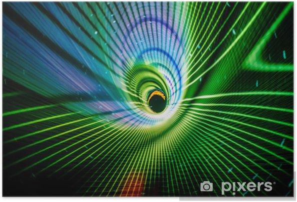 Poster Spirale - Abstrait