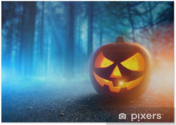 Poster Spooky Halloween Night - Fêtes internationales