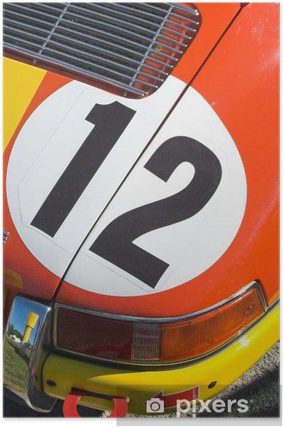 Poster Sportwagen - Onderweg