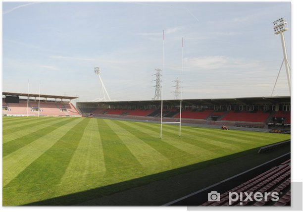 Poster Stade Ernest Wallon de Toulouse - Sports collectifs