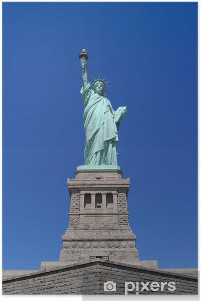 Poster Statue of liberte - Amérique