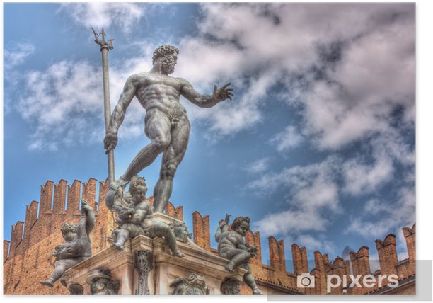 statue of Neptune Poster - Europe