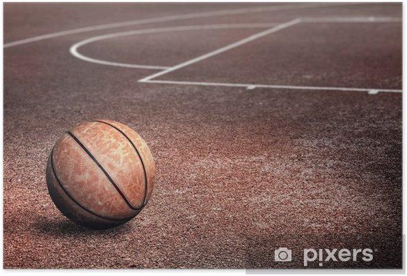 Póster Streetballcourt - Baloncesto