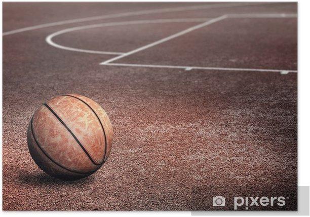 Streetballcourt Poster - Basketball