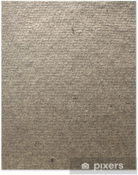 Poster Structure de papier brouillon - Textures