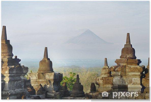 Poster Stupa de Borobudur - Asie