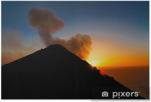 Póster Subida al volcán Stromboli - Vacaciones