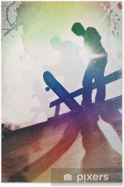 Póster Sucio Skater - Skate