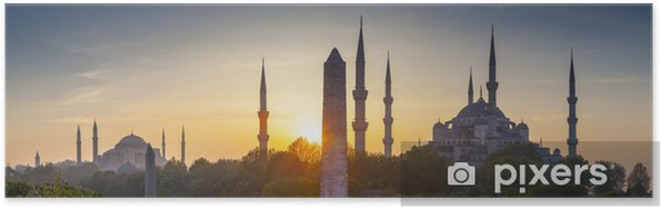 Poster Sultanahmet Camii / Blauwe Moskee, Istanbul, Turkije - Thema's