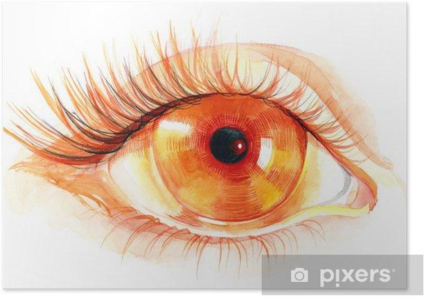 sunny eye Poster -
