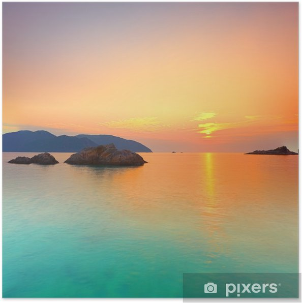 Poster Sunrise - Stijlen
