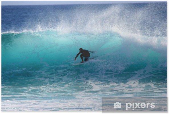 Poster Surfing - Watersporten