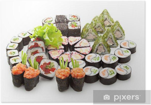 Sushi Set Poster - Sushi