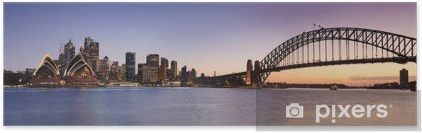 Poster Sydney CBD de Kirribilli Set Panor - Thèmes