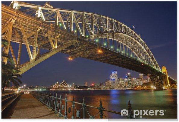 Poster Sydney Harbour Bridge 2 - Teman