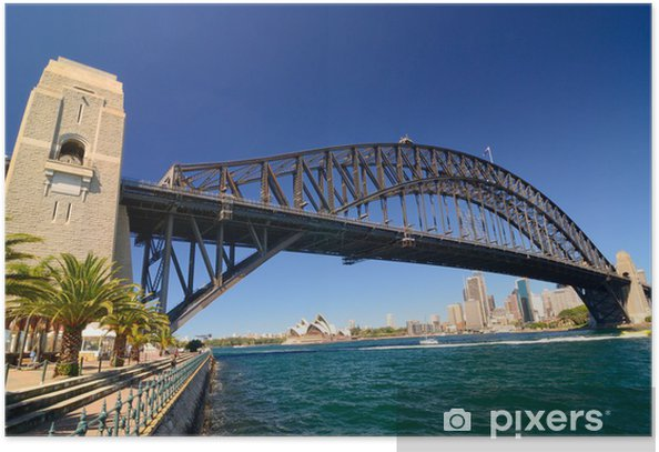 Sydney Harbour Skyline Poster - Themes