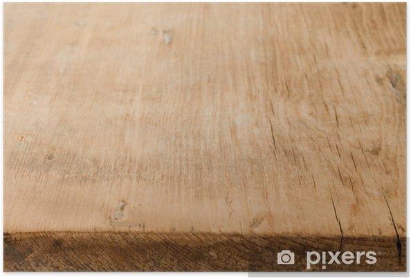 Poster Table en bois - Textures