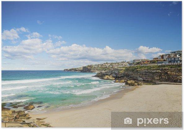 Poster Tamarama plage à Sydney en Australie - Océanie