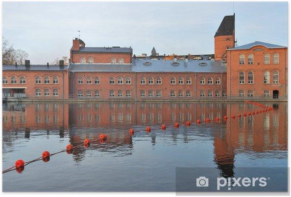 Poster Tampere, Finlande - Europe