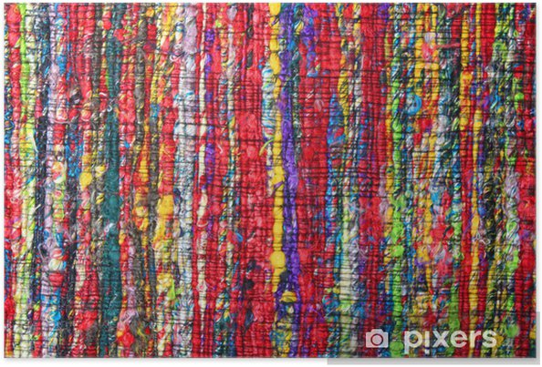 Tapis Indien Fibres Recycles Poster Pixers We Live To Change