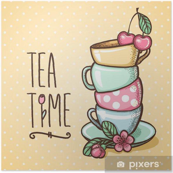 Poster Tea -
