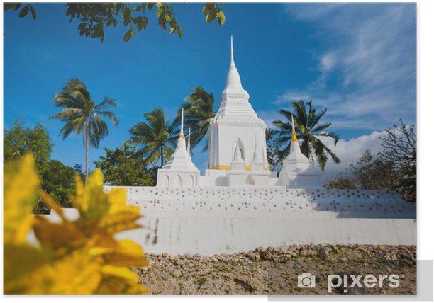 Temple in Koh Phangan Poster - Asia