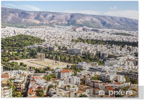 Temple of Olympian Zeus Poster - European Cities