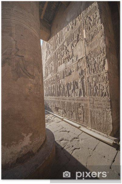 Poster Templo luxor - Esoterisch