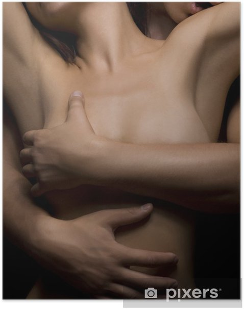 temptation woman and man Poster - Themes