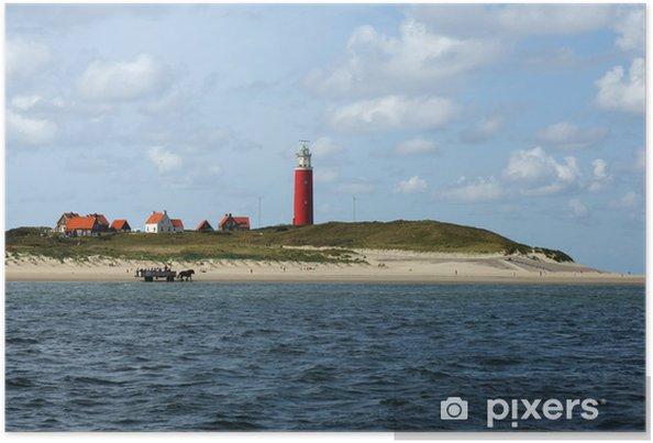 Poster Texel faro - Water