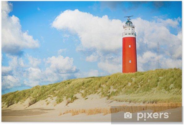 Poster Texel vuurtoren - Vuurtoren
