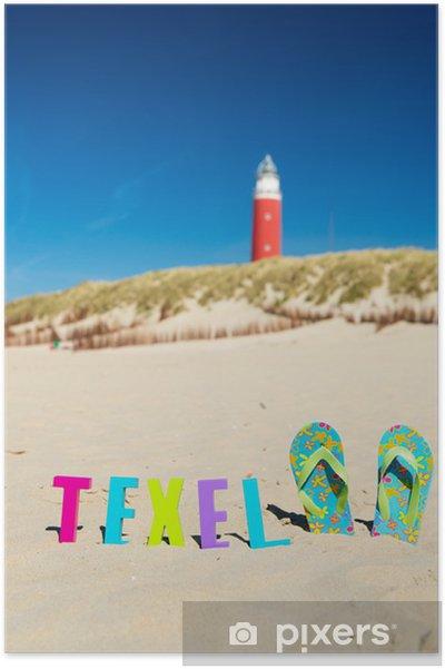 Poster Texel - Vakantie