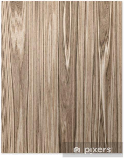 Poster Texture de bois - Textures